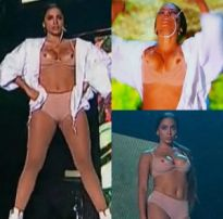 Nudes toda hora: anitta pagando peitinho ao vivo no multi show