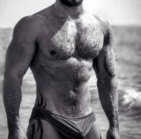 Homens belos e sensuais